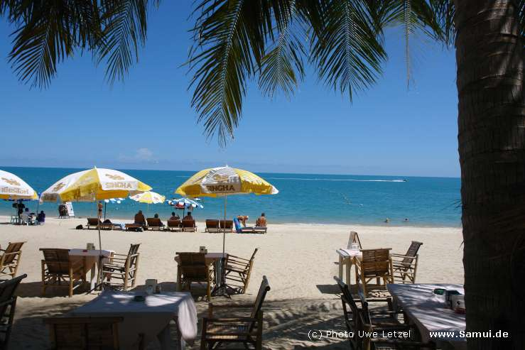 Foto: Phuket - Blick vom Hotel zum Strand