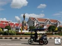 chaiyaphum phraya-phakdi-chumphon monument ( north east thailand)