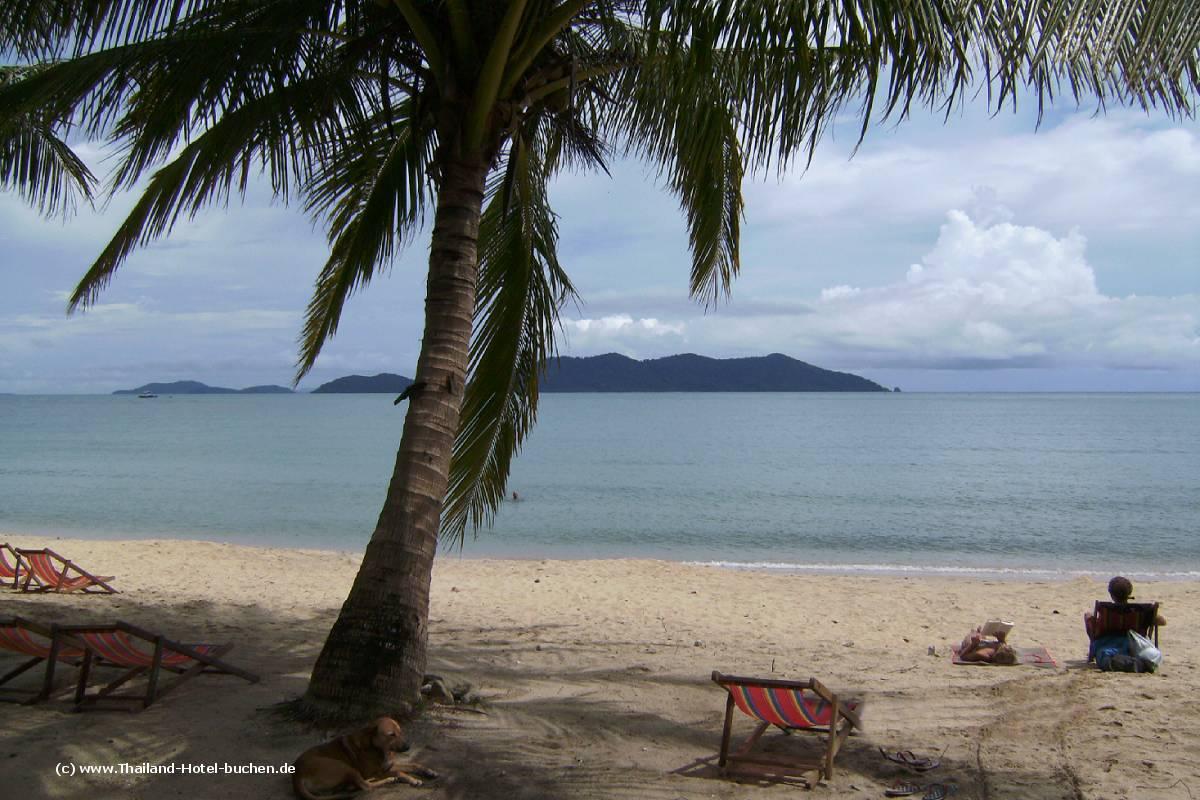Strände Koh Chang - Bang Bao Beach (Provinz Trat)
