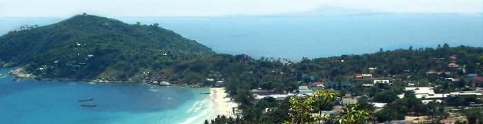 Foto: Blick auf Haad Rin Beach (Koh Phangan)