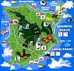 Karten Koh Samui (Maps Samui)