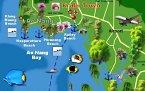Krabi, Ao-Nang Karte