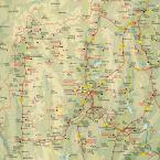 Straßenkarte Nordthailand (Street Map North Thailand)