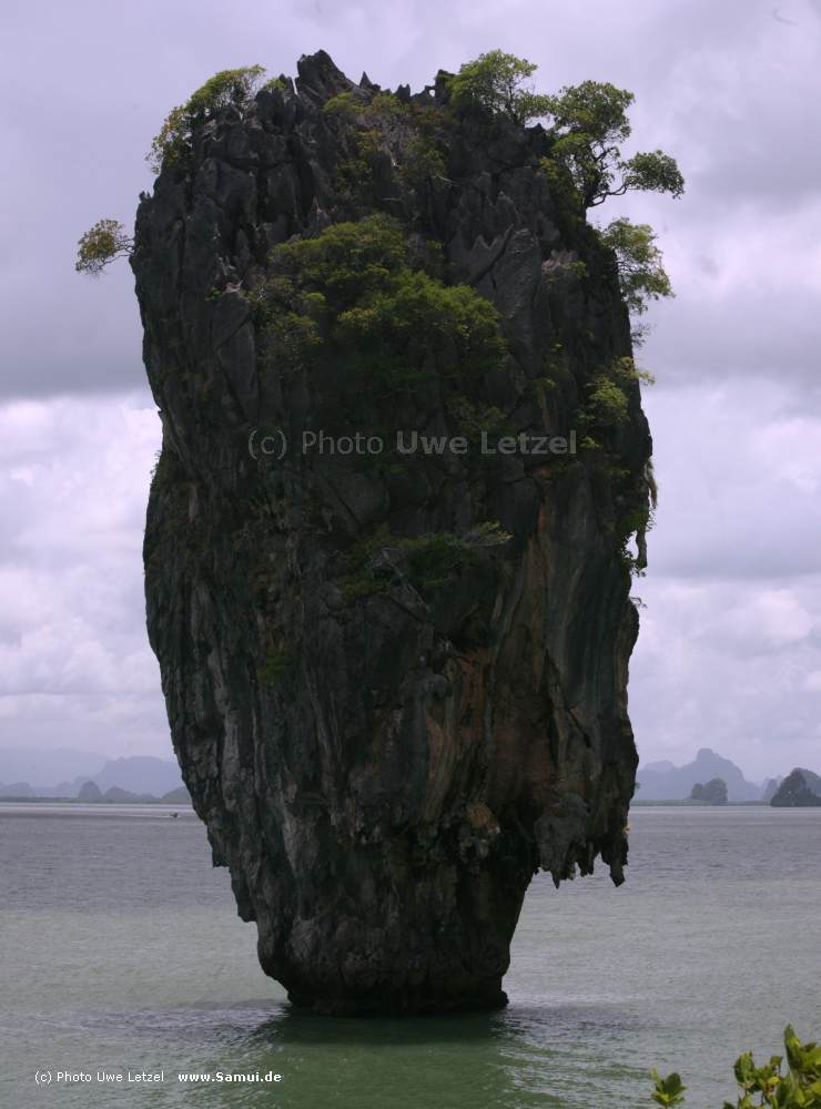Photo: James Bond Rock / Phang-Nga / Thailand